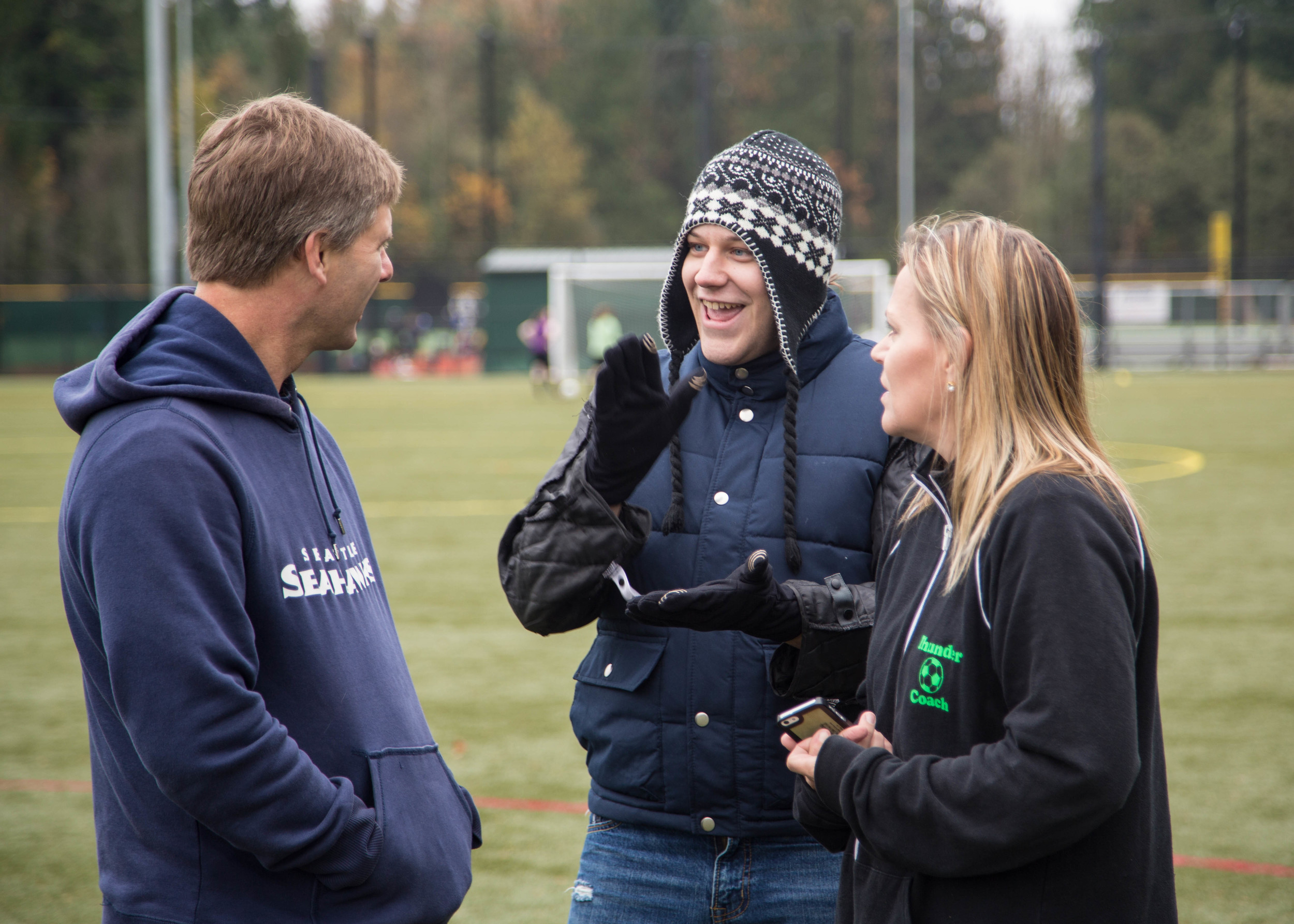 Coach Byrn, Kray and Doreen