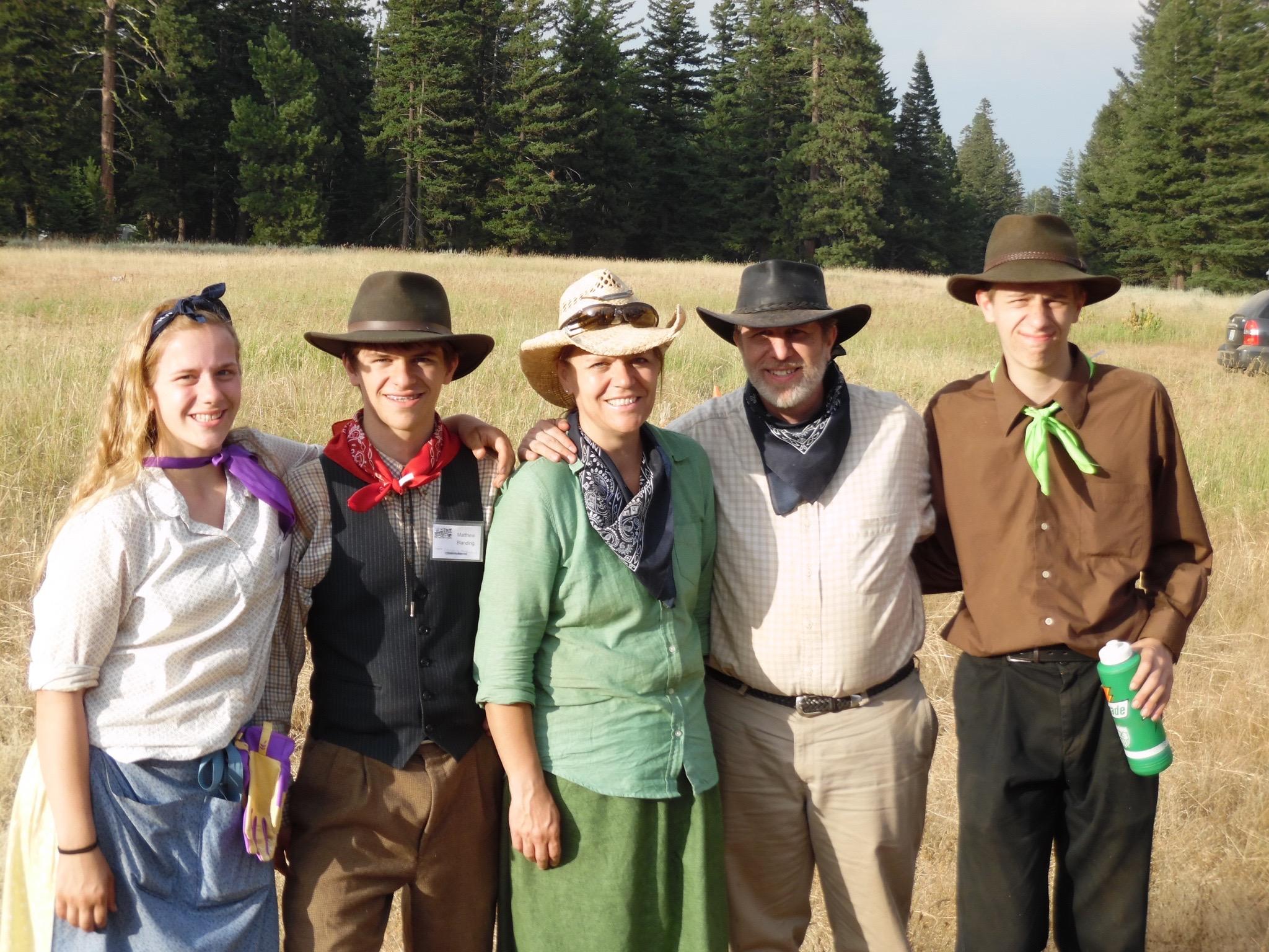 Jessie, Matt, Doreen, Steve & Chris