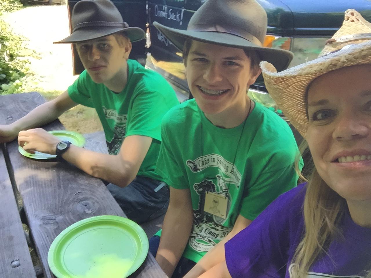 Chris, Matt and Doreen