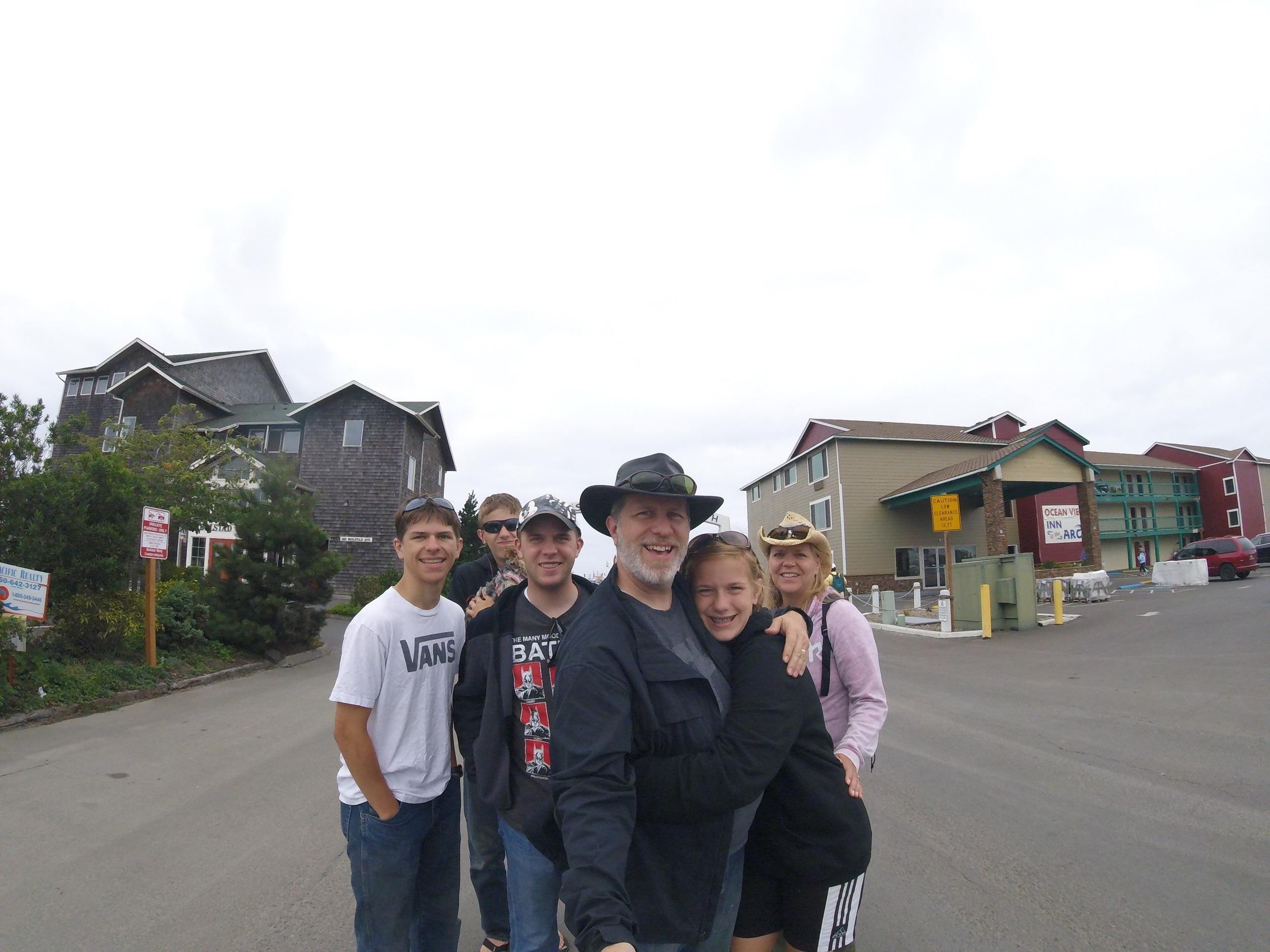 Matt, Chris, Jason, Steve, Jessie & Doreen