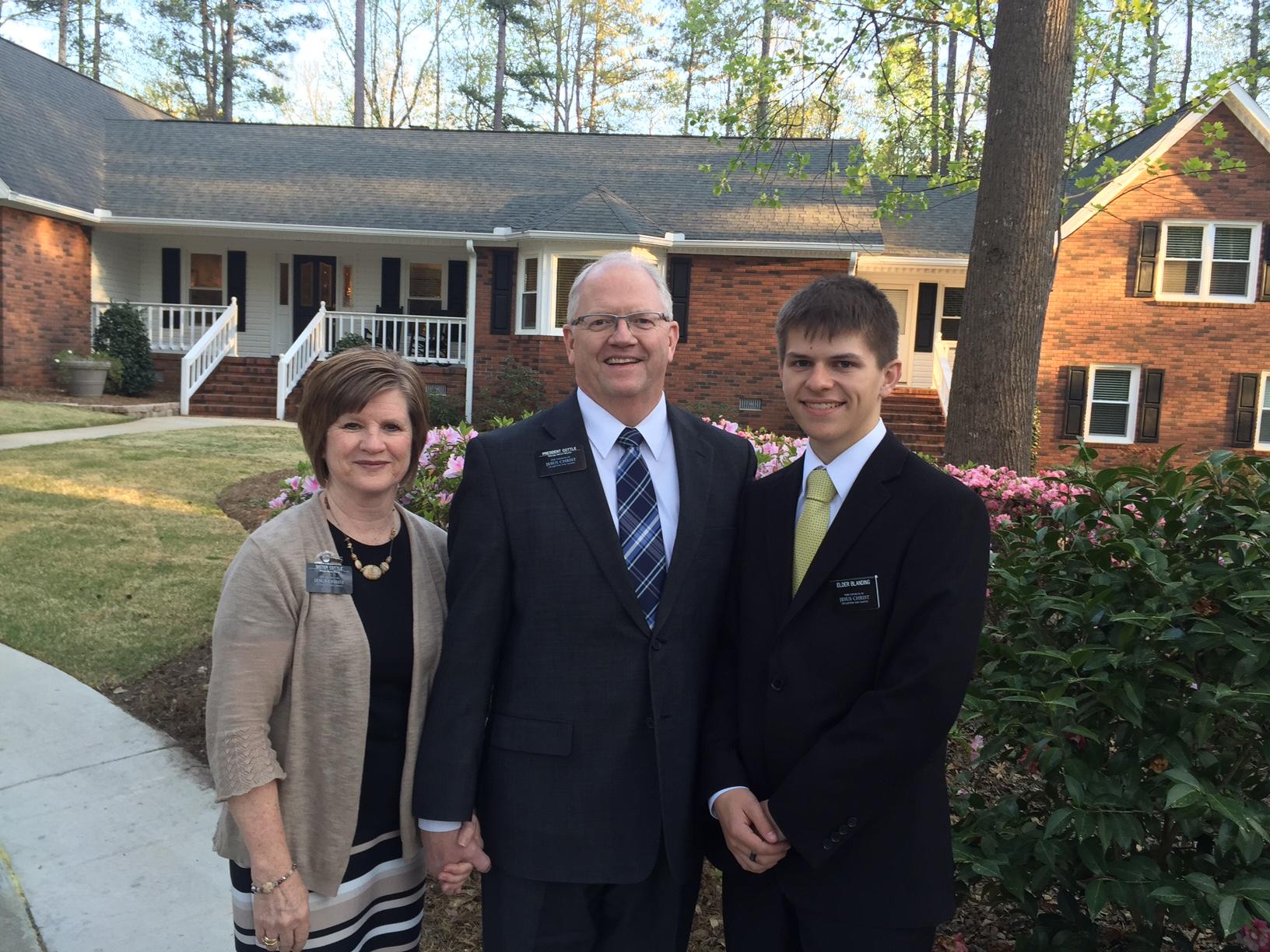 Sister and President Cottle & Elder Matthew Blanding