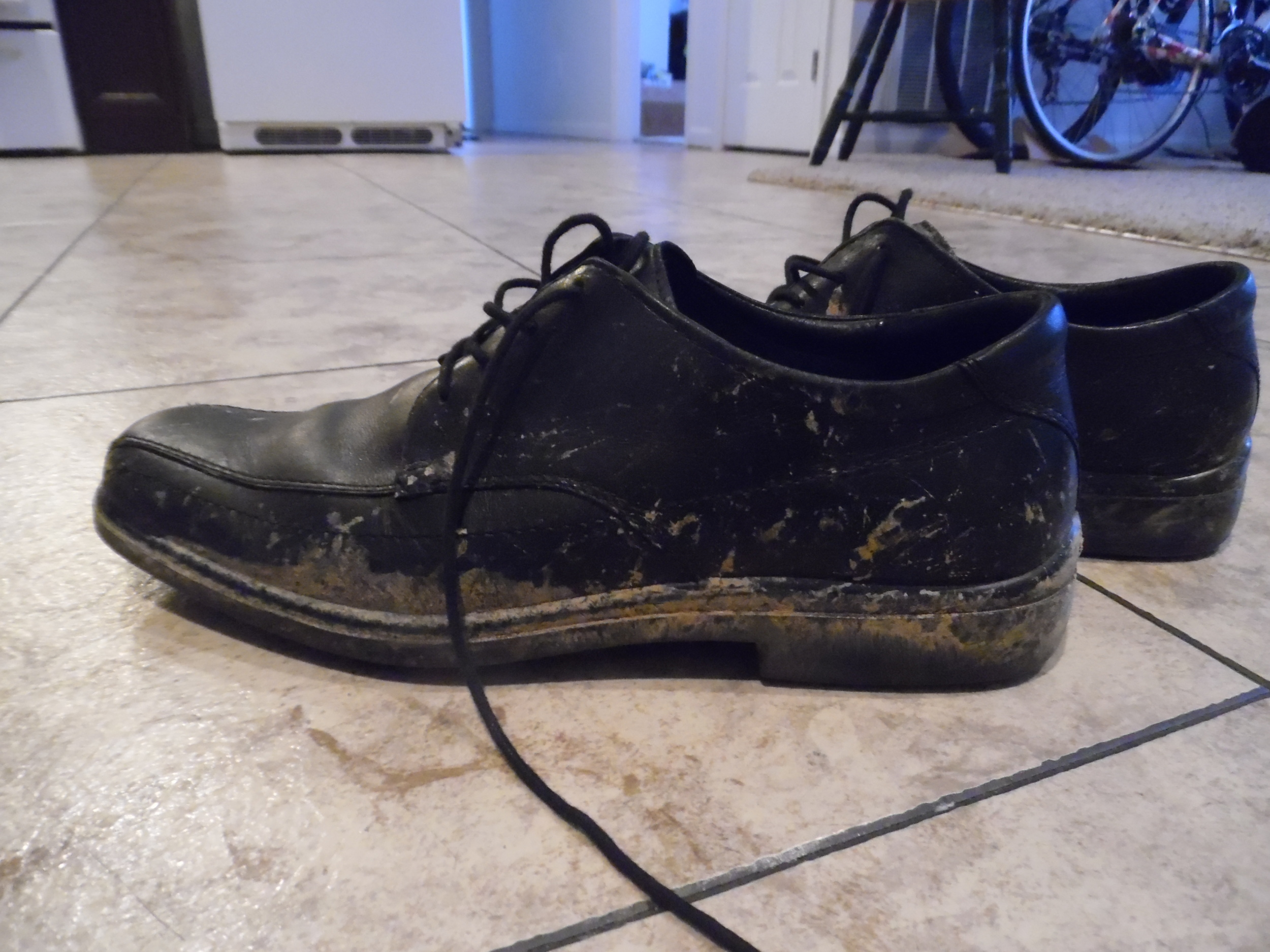 Elder Matthew Blanding's shoes