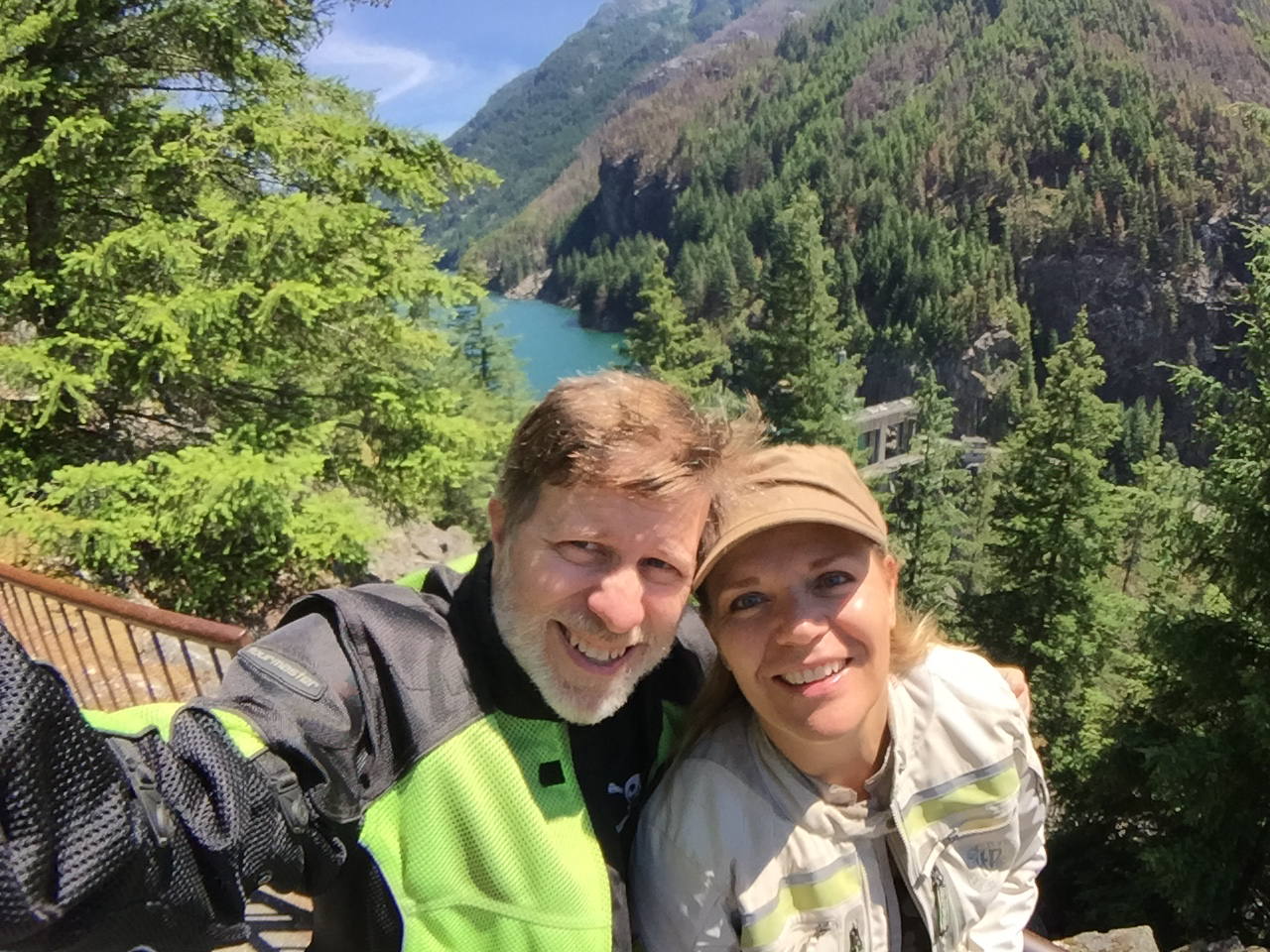 Steve and Doreen at Gorge Lake