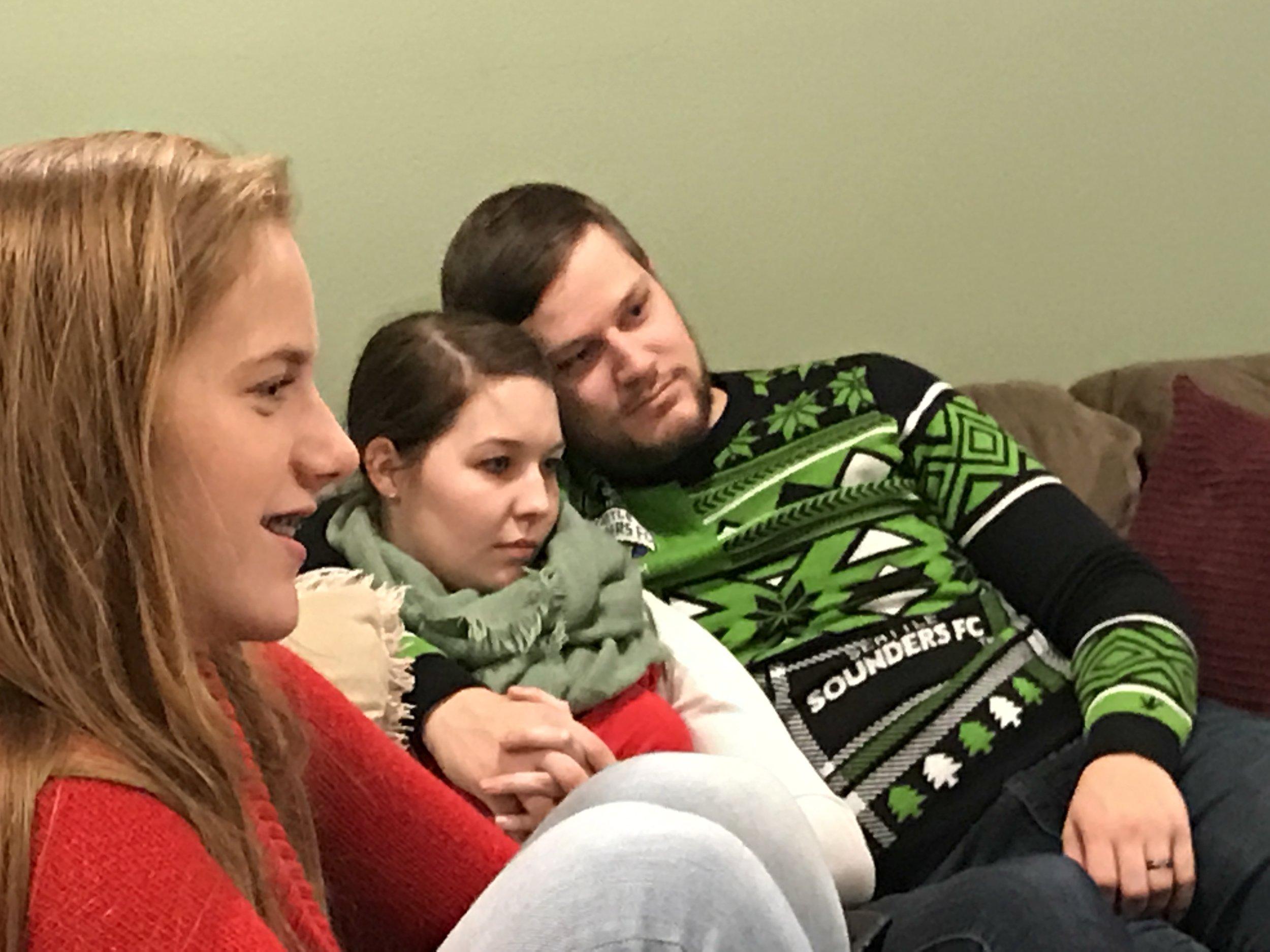 Jessie, Alysia & Kray