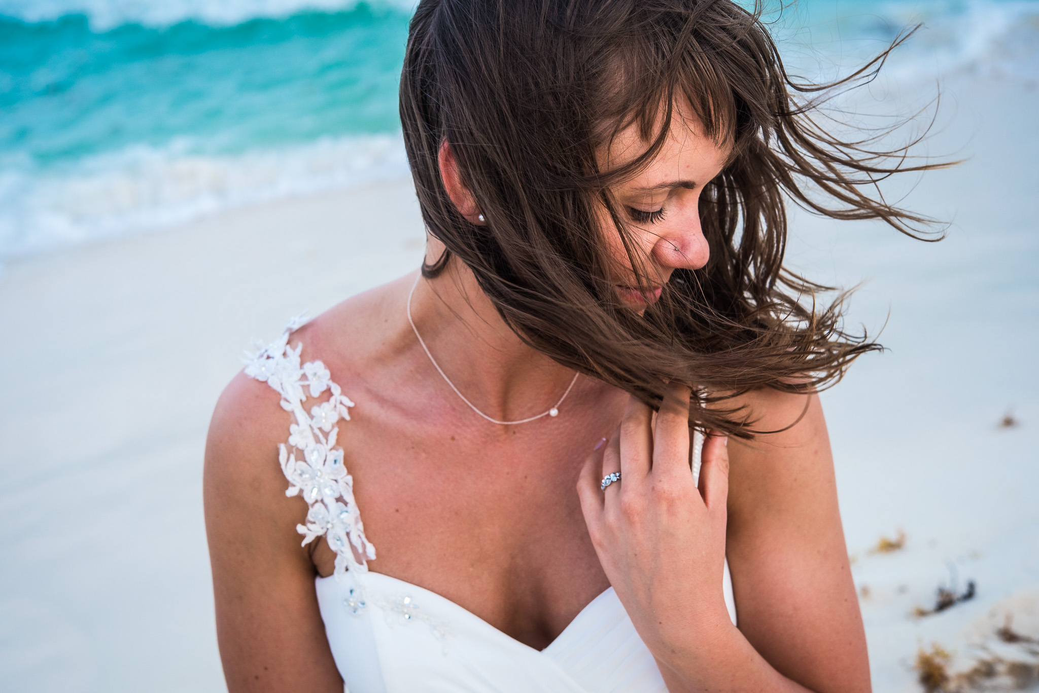 Caribbean Elopement Bride