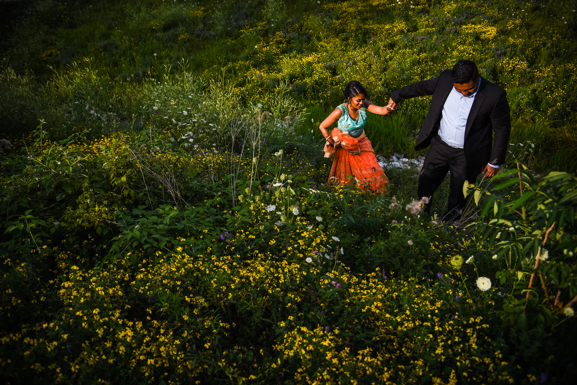 Tamil Engagement Photographer Québec