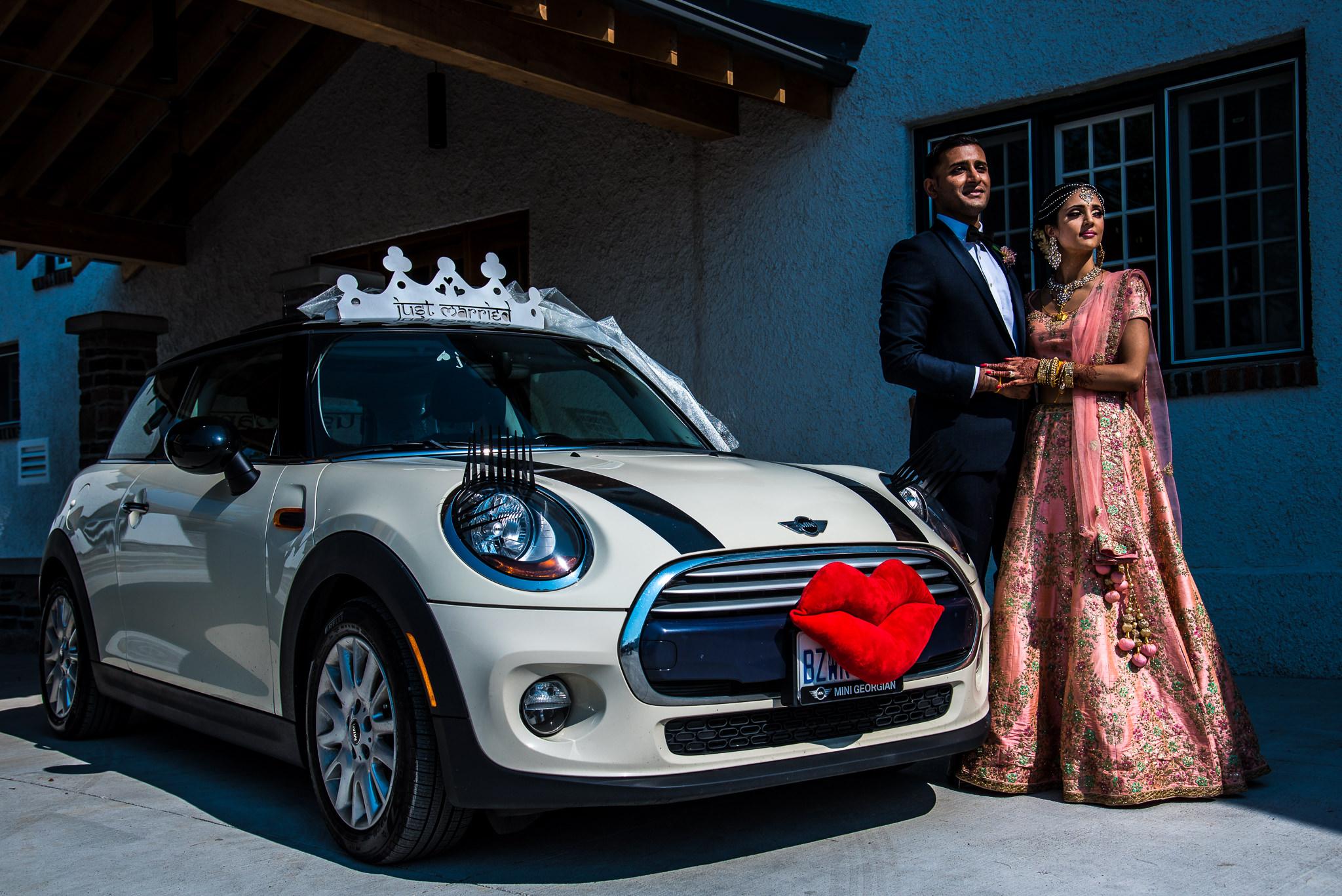 Cute Wedding Car