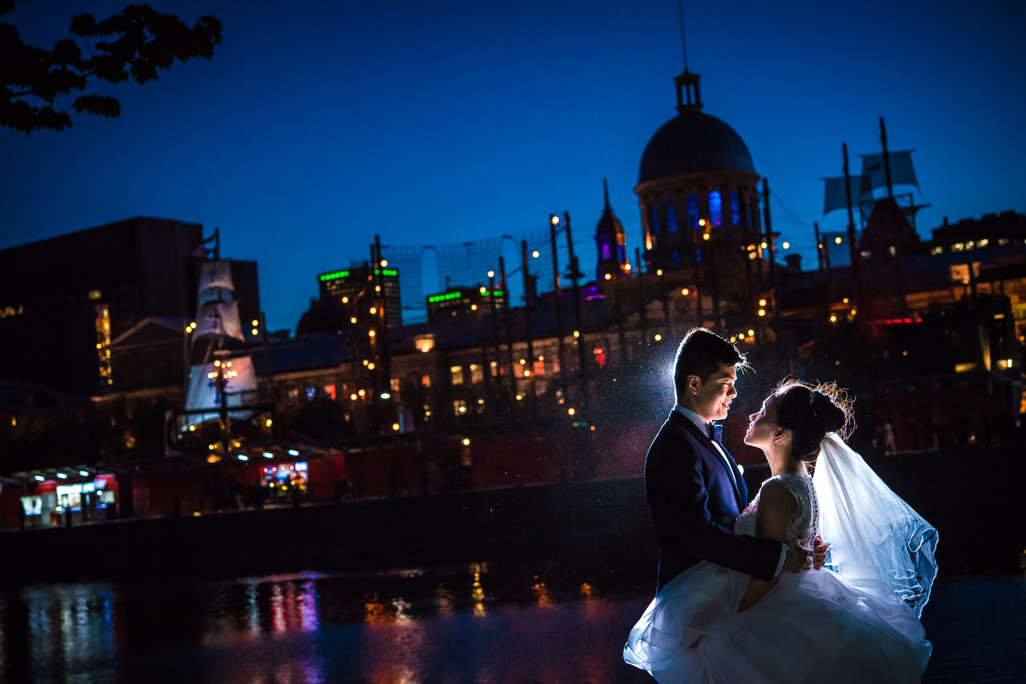 Chinese Pre-Wedding Session Old Port Montreal