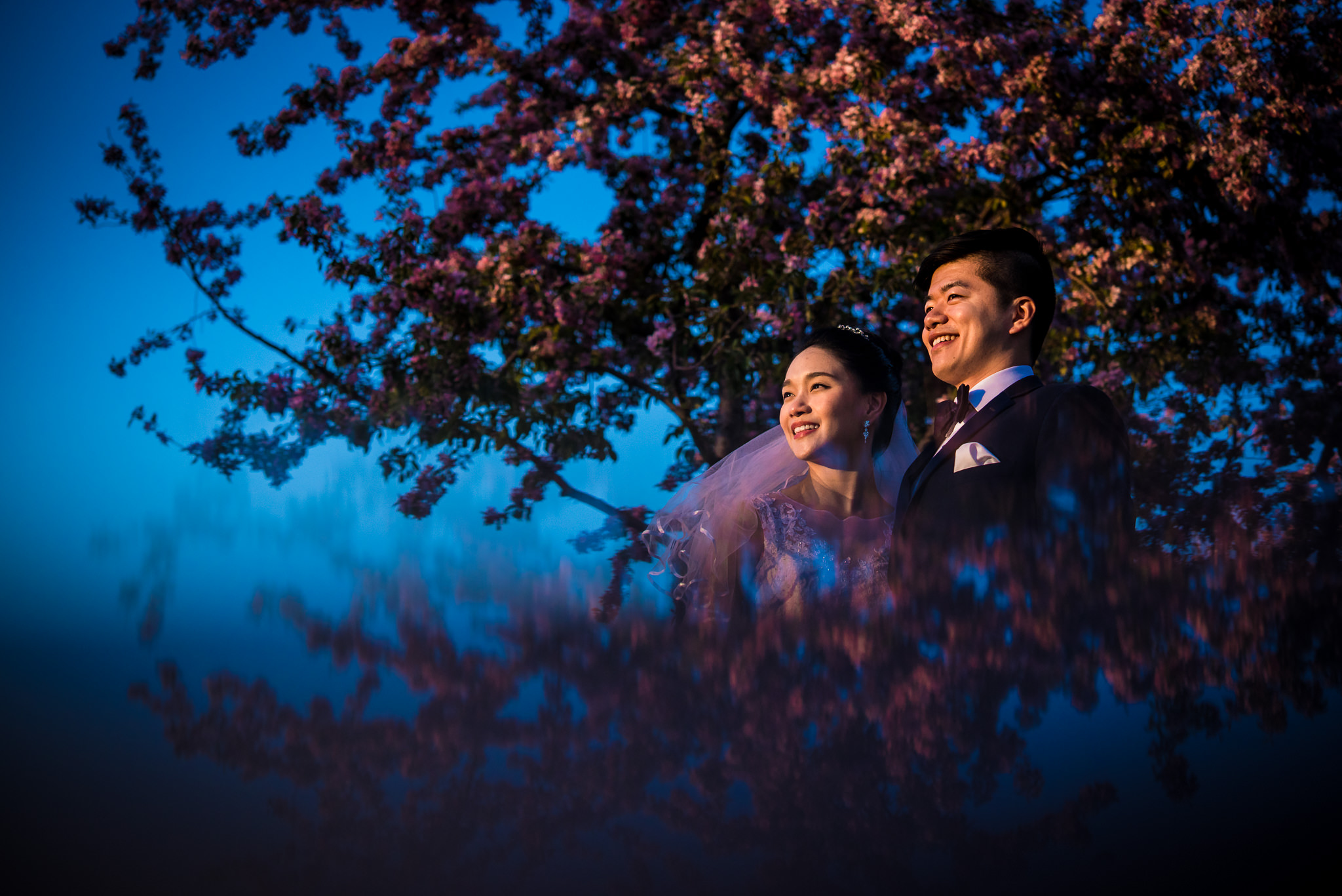 Chinese Pre-Wedding Photography Old Montreal