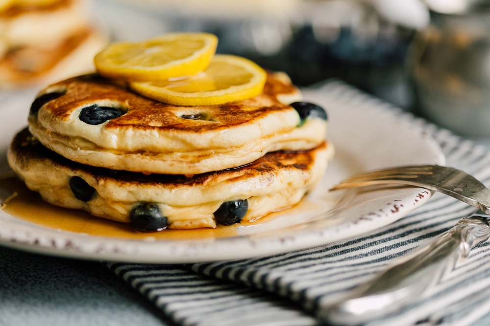 Bellingham Food Stylist and Food Photographer Katheryn Moran Pancakes