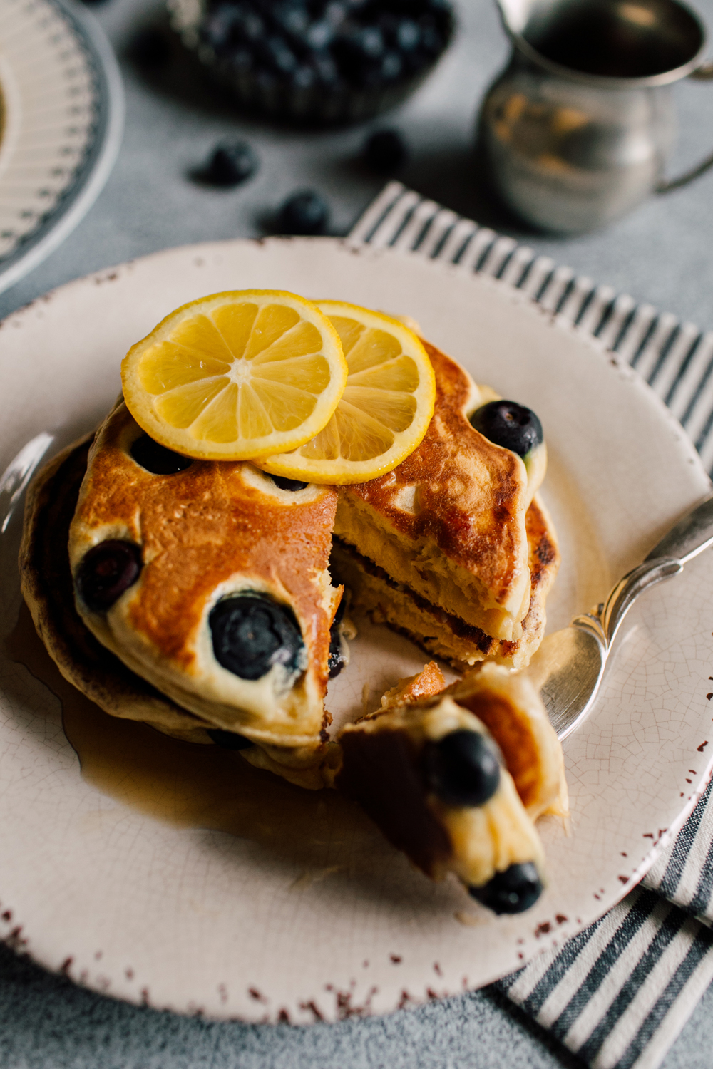 Bellingham Food Stylist and Food Photographer Katheryn Moran Pancakes