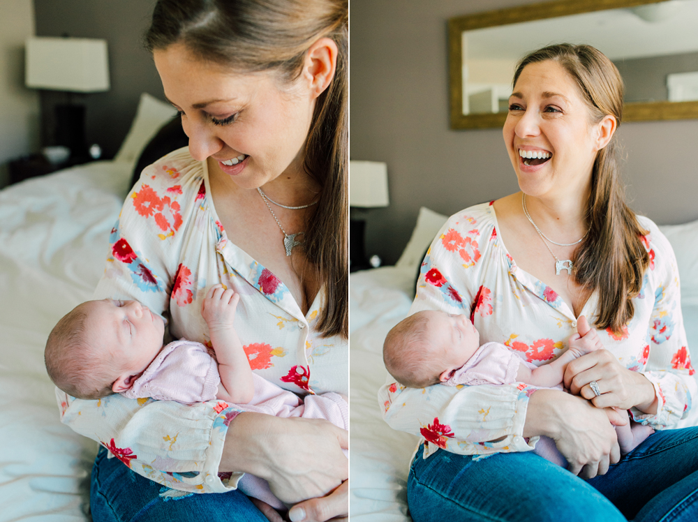 Seattle Newborn Photographer Katheryn Moran Lifestyle Family Session