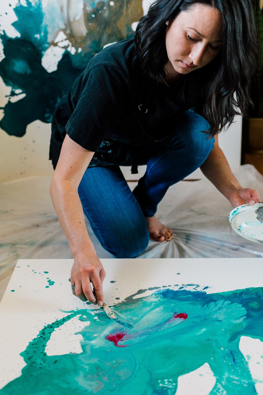 Bellingham Business Artist Photographer Katheryn Moran, Kendra Castillo Designs