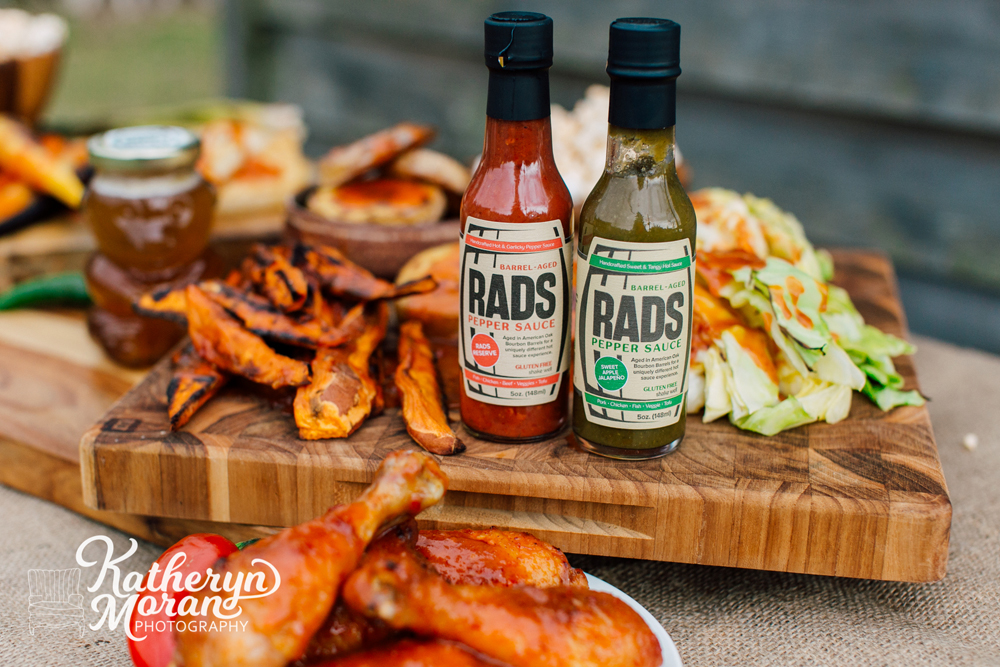 Rads Pepper Sauce Bellingham Food Photographer Katheryn Moran