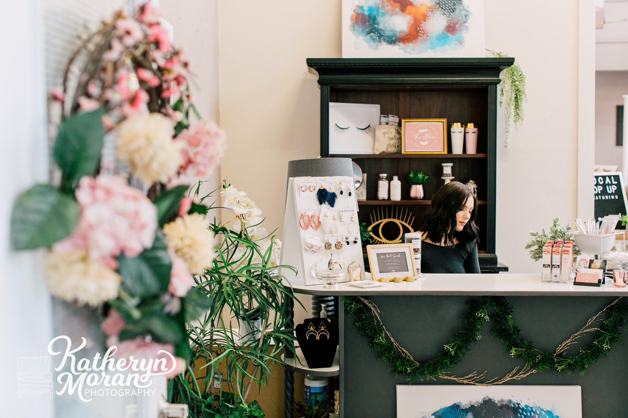 Bellingham Business Photographer Katheryn Moran Atelier Salon