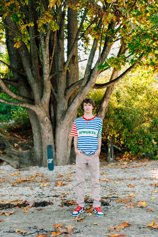 Bellingham Senior Portrait Photographer Katheryn Moran Boulevard Park