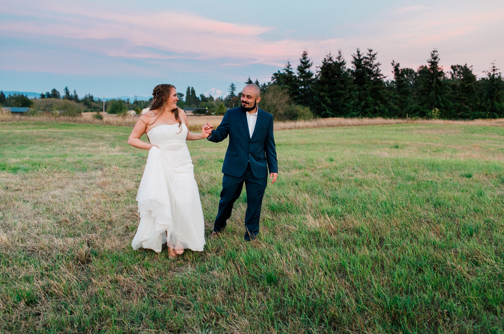Bellingham Wedding Photographer Backyard Wedding Katheryn Moran