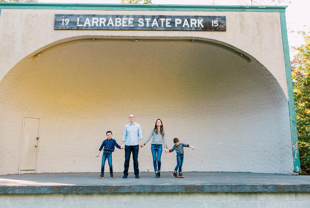 Bellingham Family Photographer Larrabee Park Katheryn Moran
