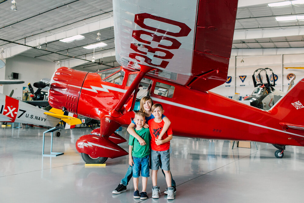 Bellingham Family Photographer, Arizona Flight Museum, Seattle Photographer