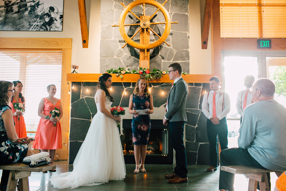 Bellingham Wedding Photographer Katheryn Moran Squalicum Boathouse