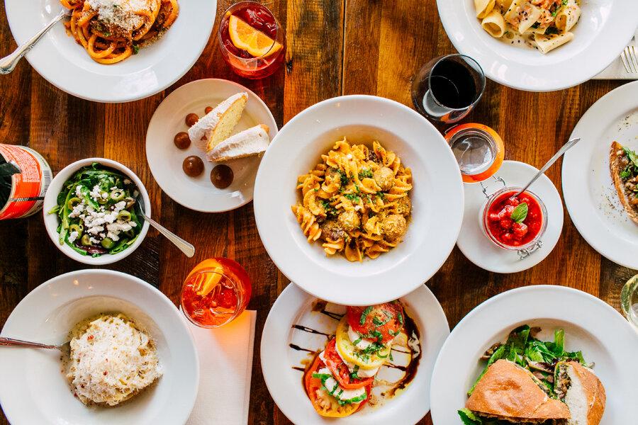 Seattle Food Business Photographer Due Cucina Italiana