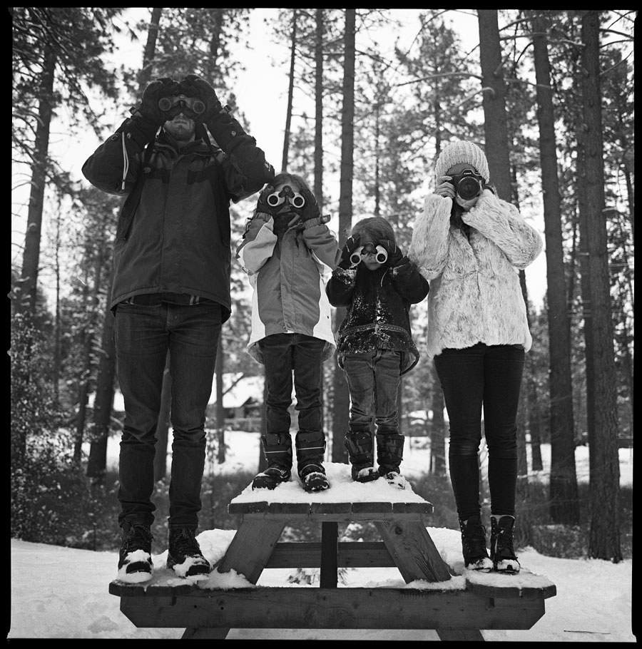 The Bovees -Photographed on a Hasselblad 500CM with 60mm f3.5 lensonTRI-X film.