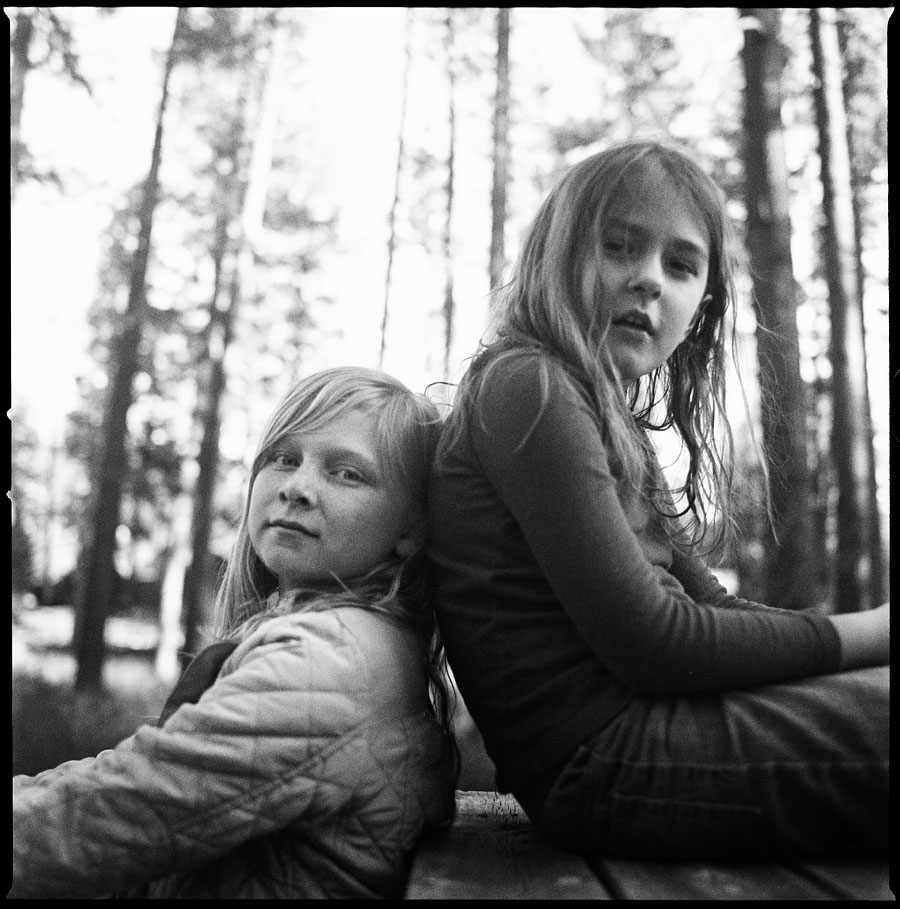Grace and Chuck -Photographed on a Hasselblad 500CM with 60mm f3.5onTRI-X film.