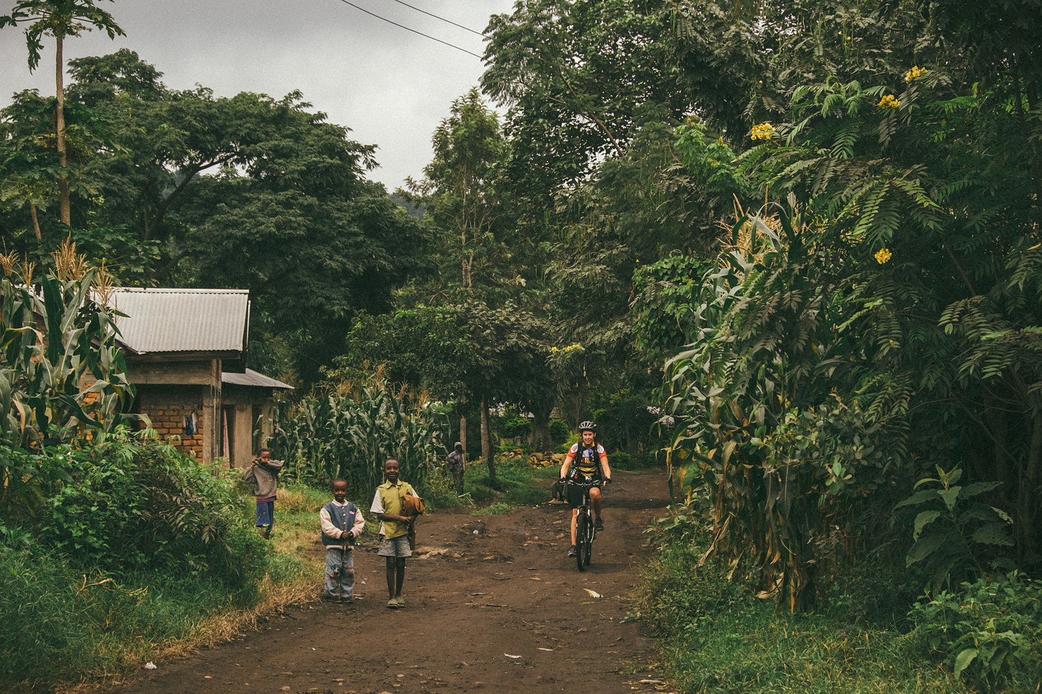 ^ Throughout our 10 days of riding, it never got less surreal to just be cruising through rural Tanzanian life... on a bike .