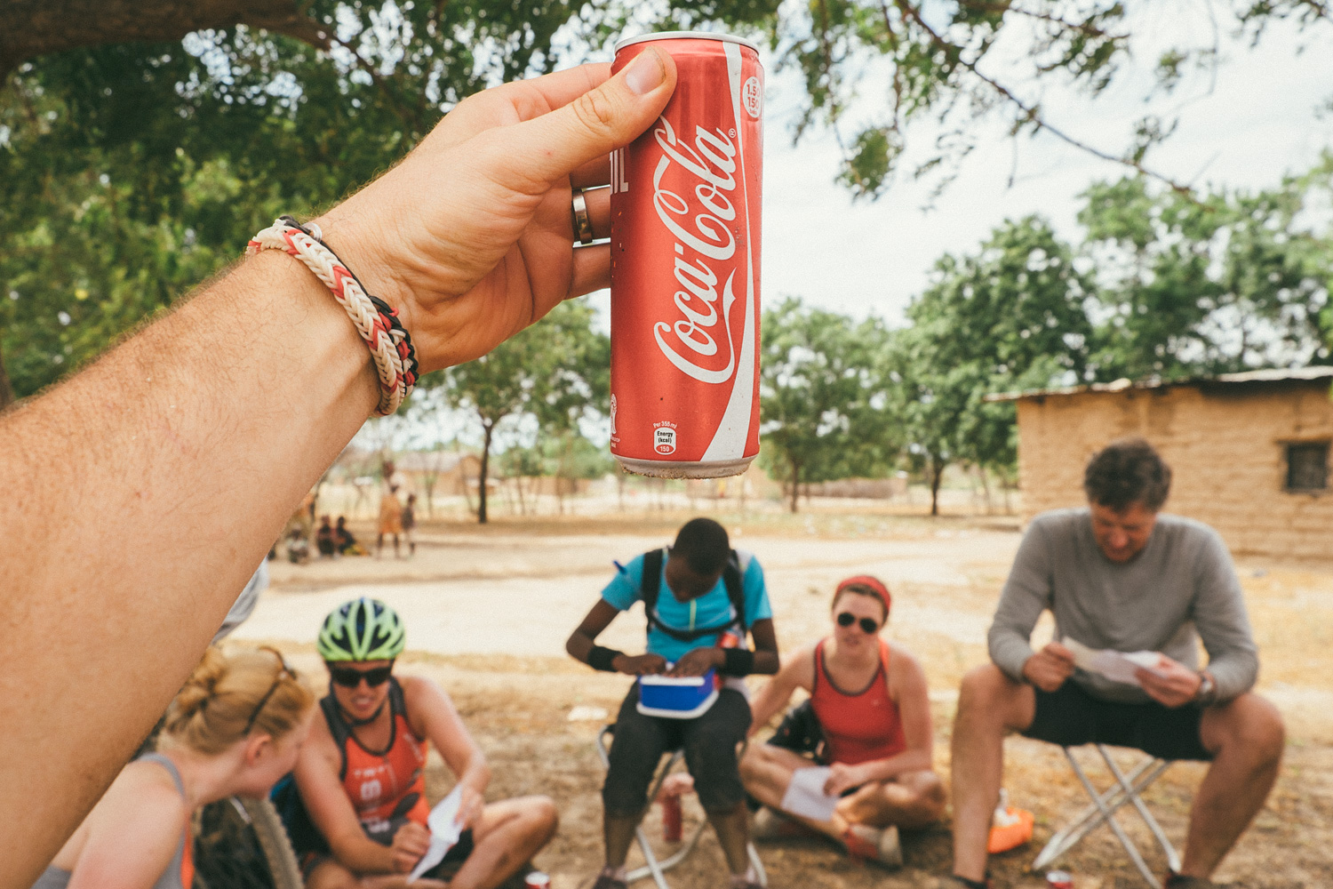 ^ I don't normally drink soda, but when I do it's the heavenly nectar of pure sugar coca-cola on a lunch break in the middle of a toasty ride.