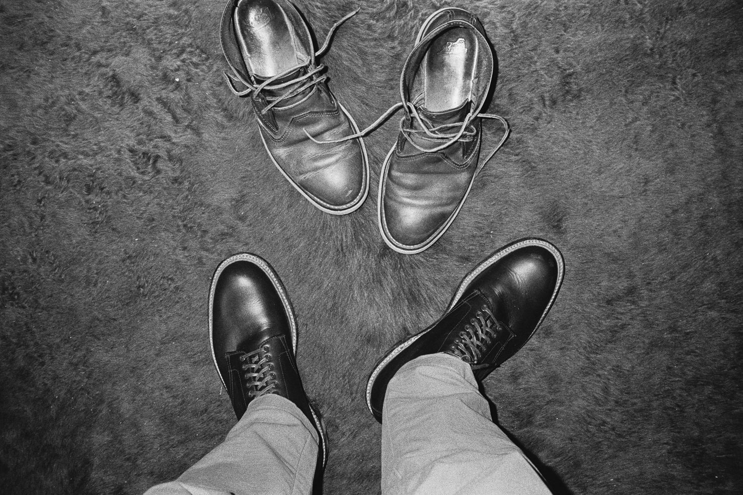 ^ Old vs new boots.