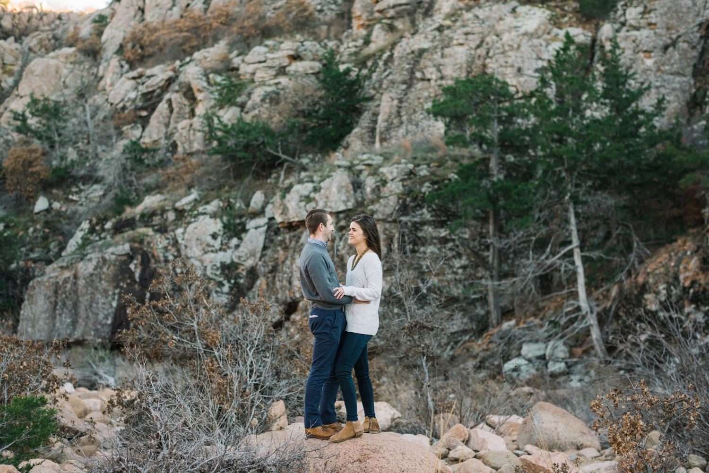 Wichita Kansas Engagement Photographer-Oklahoma Photographer-Wichita Mountains-Neal Dieker-101.jpg