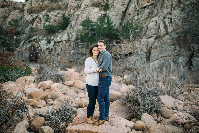Wichita Kansas Engagement Photographer-Oklahoma Photographer-Wichita Mountains-Neal Dieker-112.jpg