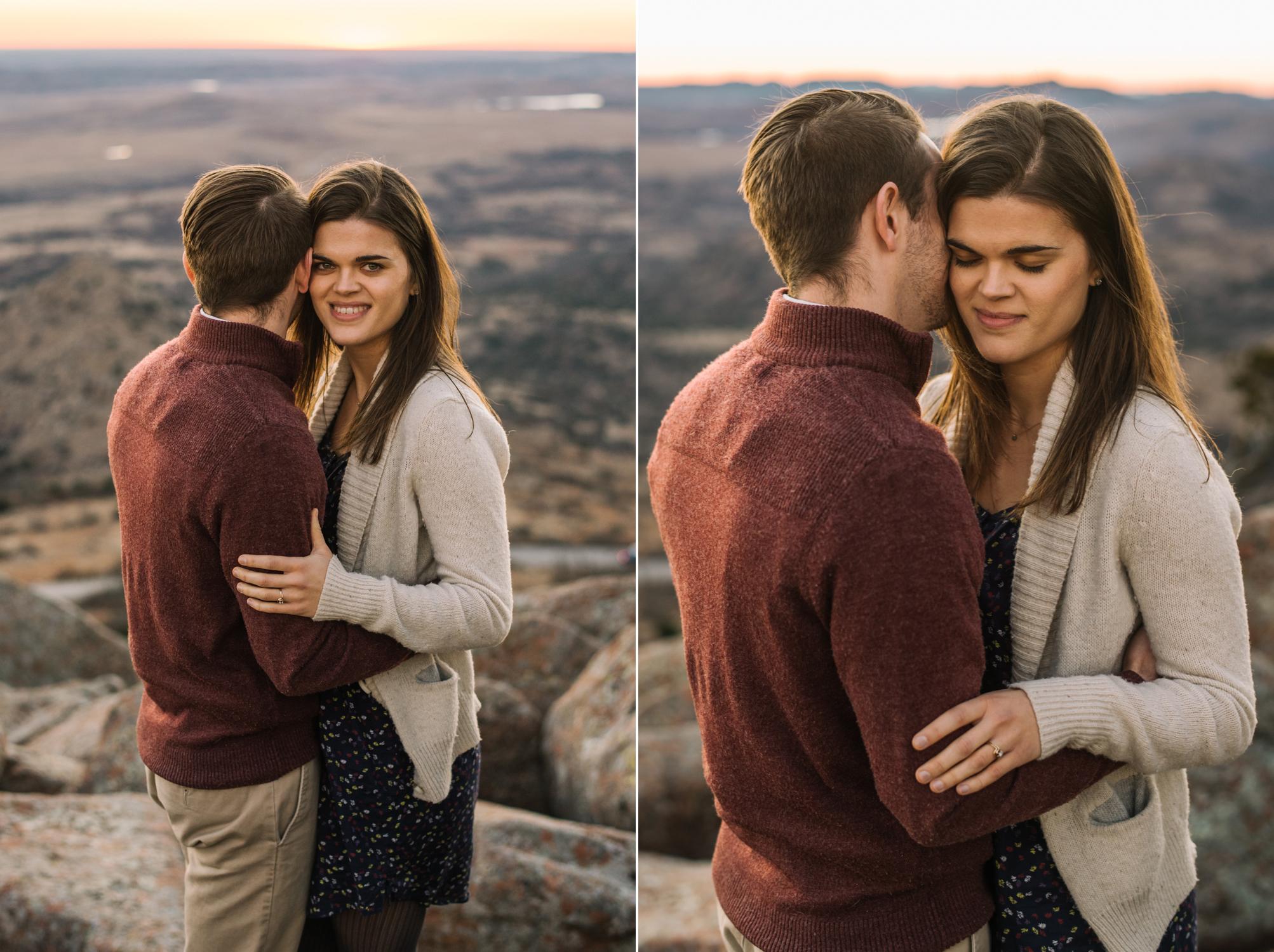 Wichita Kansas Engagement Photographer-Oklahoma Photographer-Wichita Mountains-Neal Dieker-143.jpg
