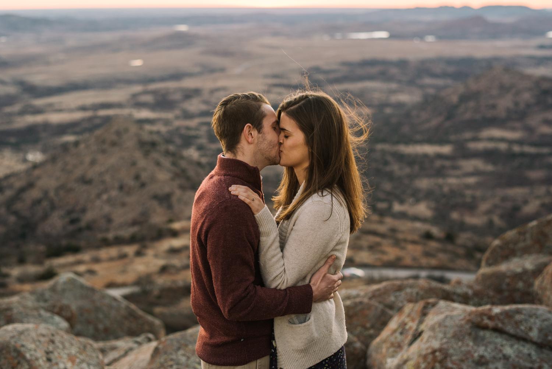 Wichita Kansas Engagement Photographer-Oklahoma Photographer-Wichita Mountains-Neal Dieker-147.jpg