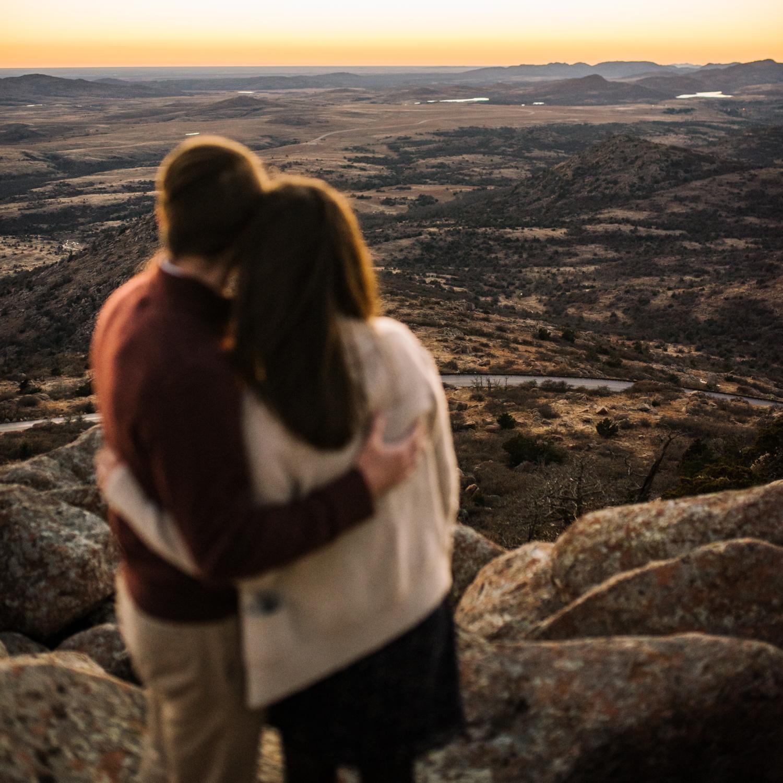 Wichita Kansas Engagement Photographer-Oklahoma Photographer-Wichita Mountains-Neal Dieker-154.jpg