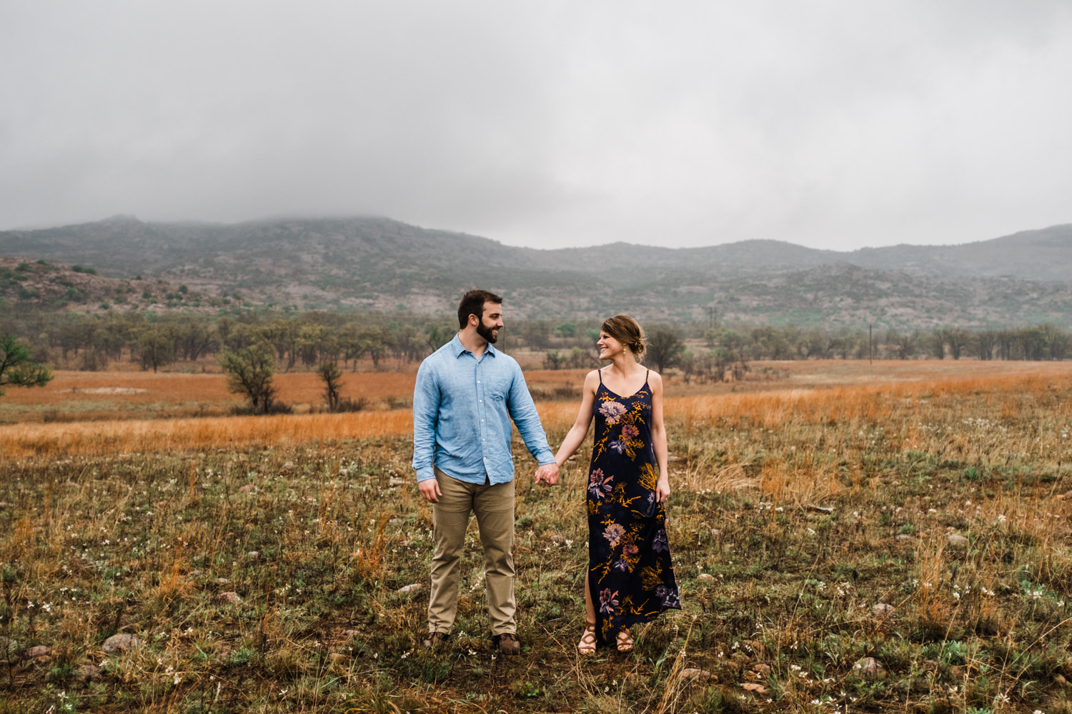 Oklahoma Engagement-Neal Dieker-Oklahoma Wedding Photography-Wichita Mountains-Wichita, Kansas Portrait Photographer-183.jpg