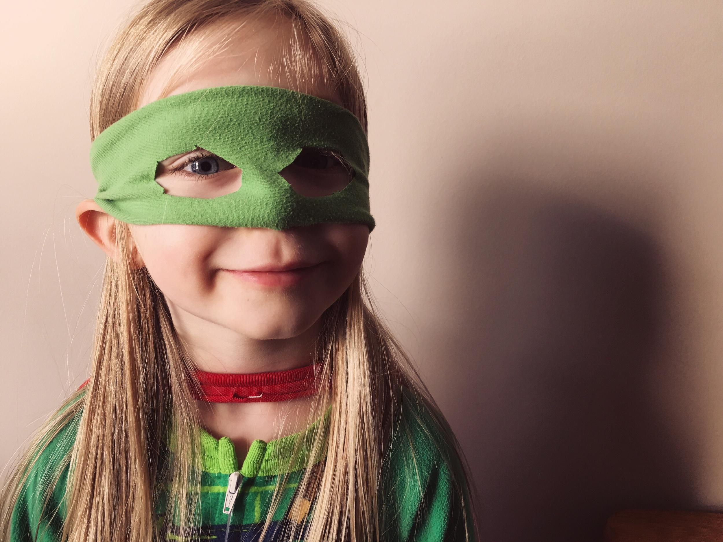 The Superman Ninja Turtle!