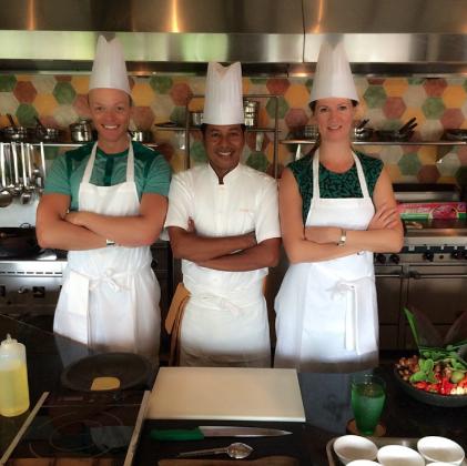 The Jimbaran Bay Cooking Academy. Jimbaran Bay.