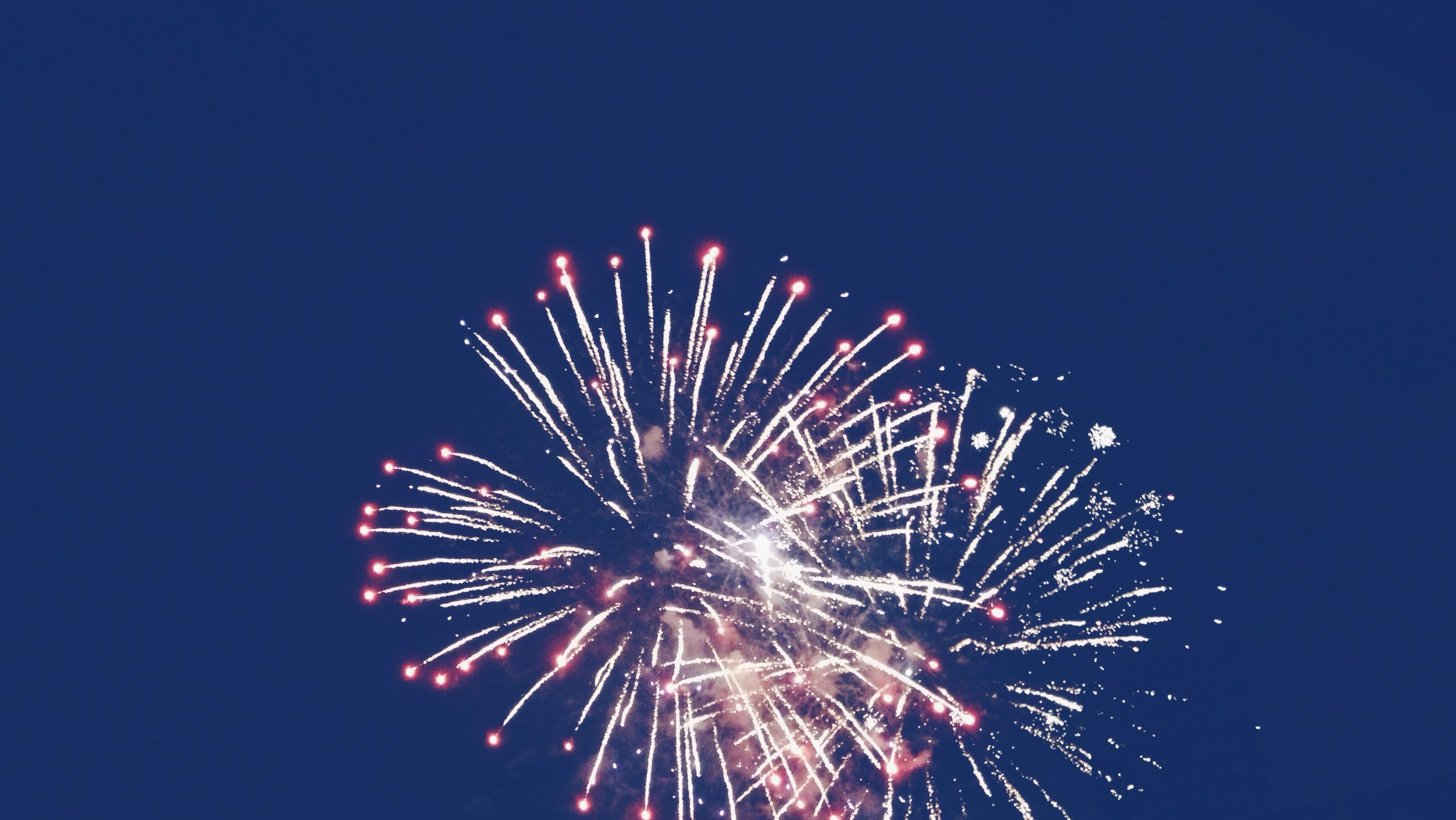 Obligatory fireworks photo.