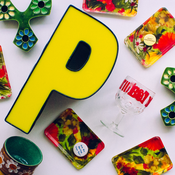 Yellow P has never looked so good. Hang it up in my bathroom you say?    I think I just might.🚽