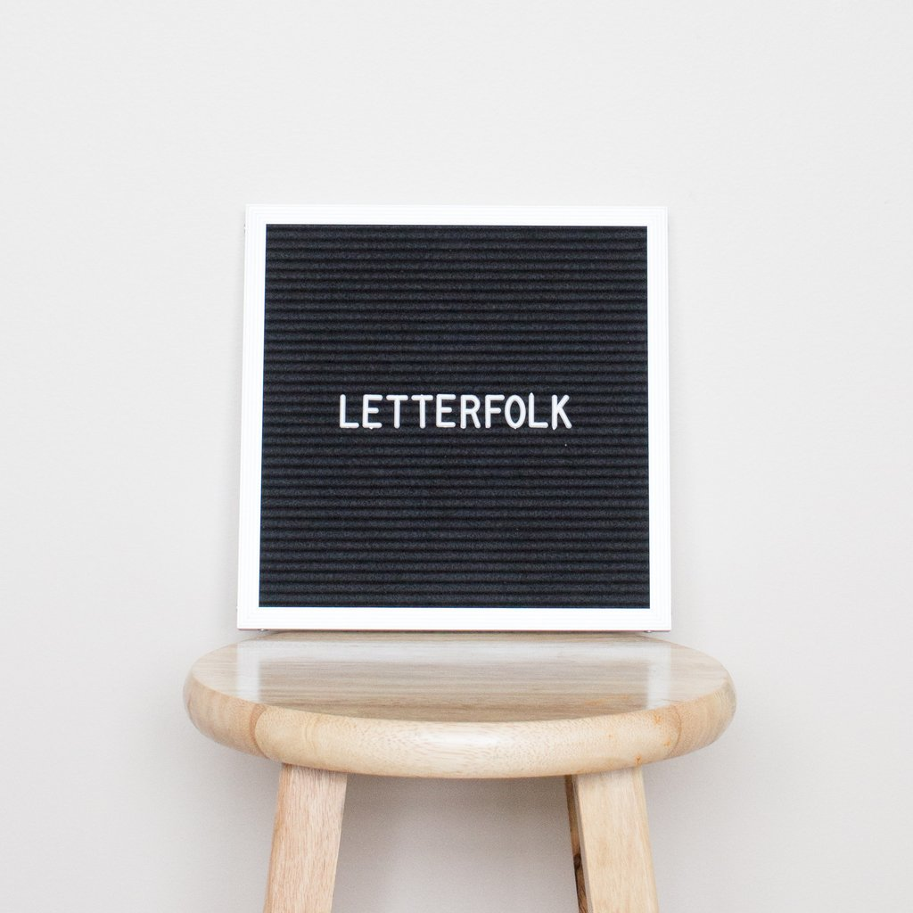 "10""x10"", $50, Letterfolk"