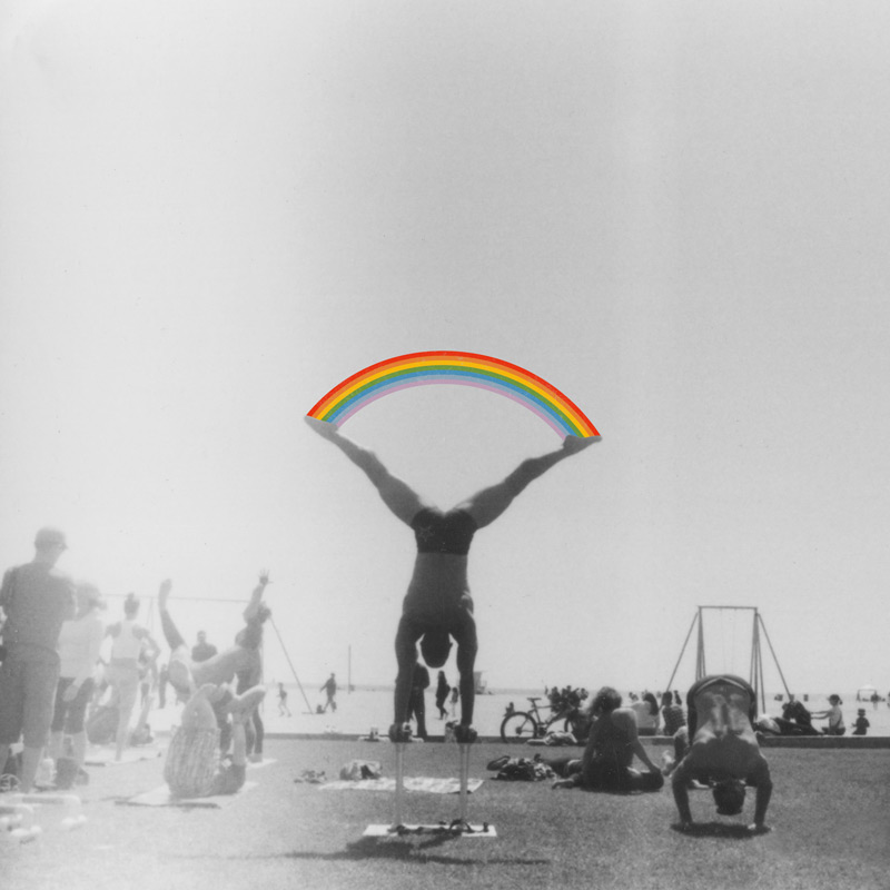 Straddle Rainbow Handstand | Julia Walck