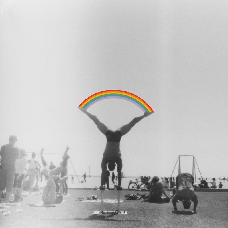 Straddle Rainbow Handstand | Julia Walck