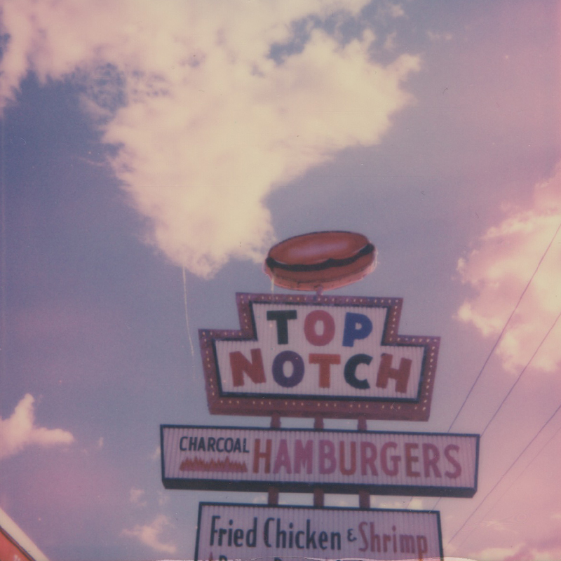 Polaroid | Top Notch Hamburgers | Austin, TX | Julia Walck