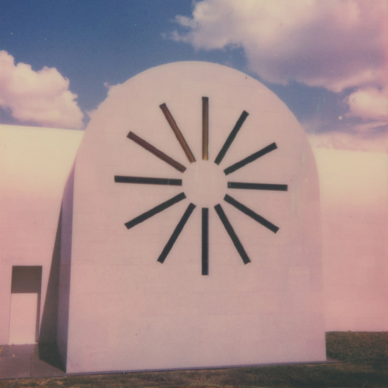 Polaroid | Ellsworth Kelly's Chapel | Austin, TX | Julia Walck
