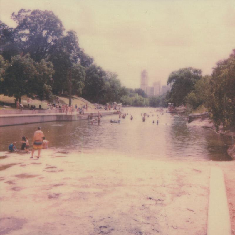 Polaroid | Barton Springs Pool | Austin, TX | Julia Walck