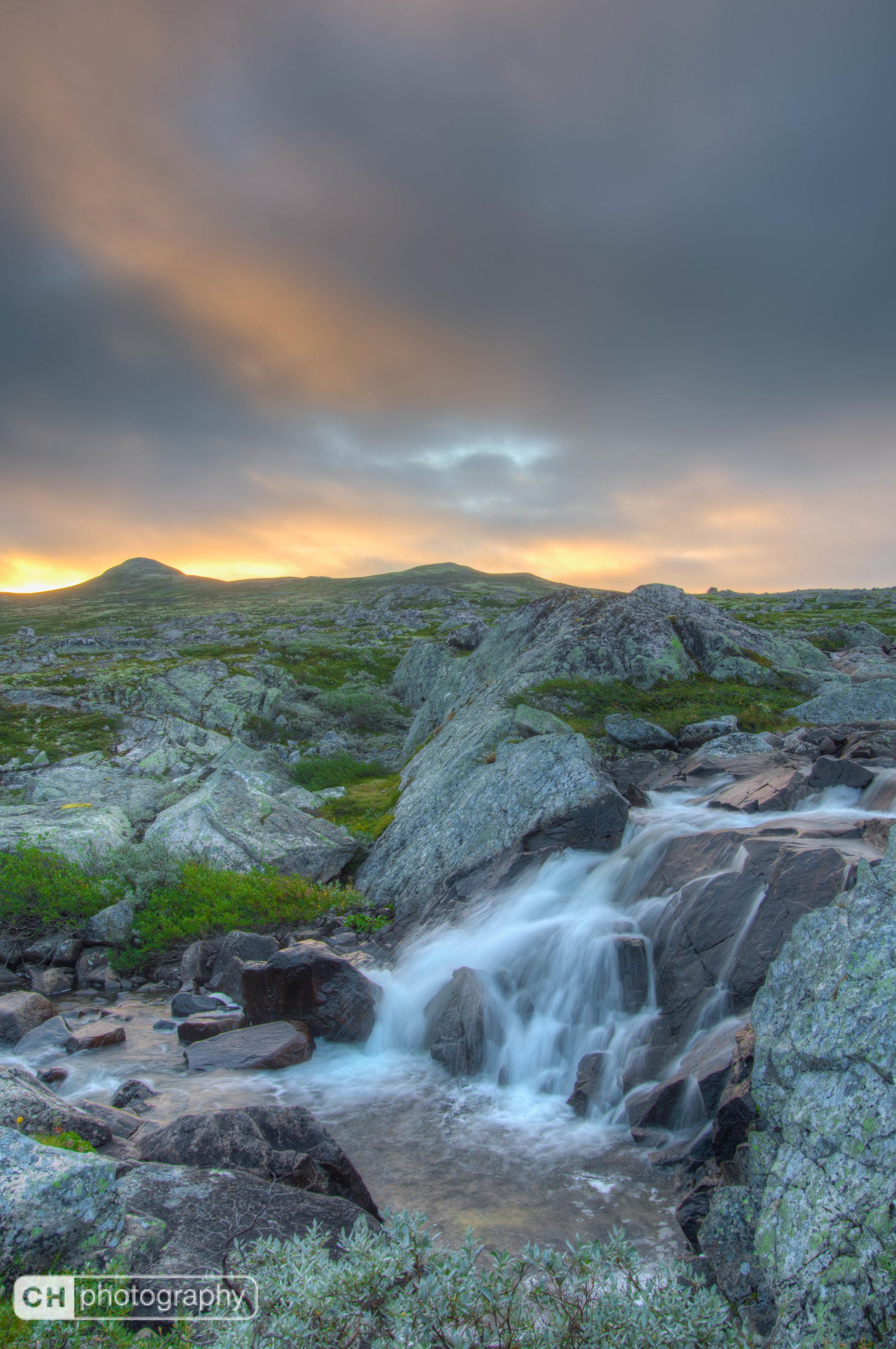 Sunrise at Hardangervidda
