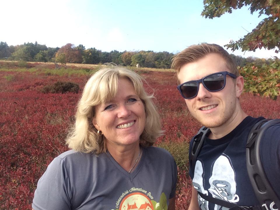 Obligatory mother & son selfie