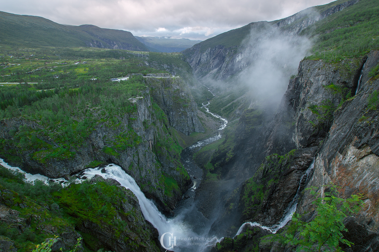 Vøringsfossen - Norways most visited waterfall