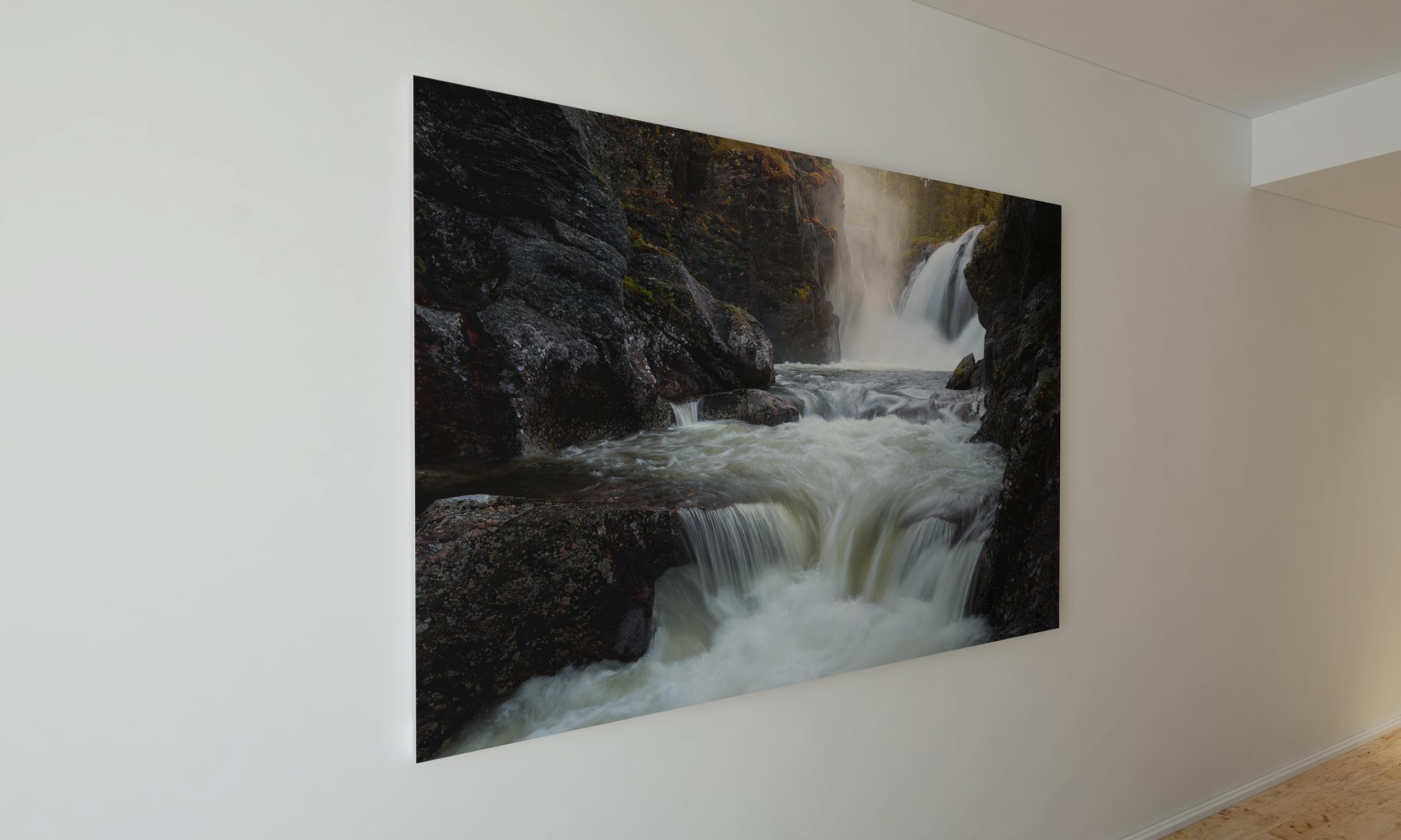 Vakker foss i Hemsedal. Dette er en av mange bilder du kan kjøpe!